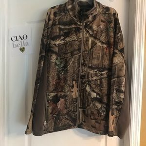 Red Head Full Zip Camo Jacket - Size 2XL